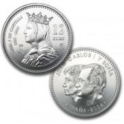España Spain monedas Euros conmemorativos de 2004 12 euros Plata