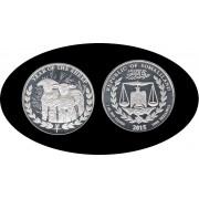 Somalia Somaliland 2015 Moneda Coin 1 oz 1000 Shillings Sheep Oveja  Plata Proof