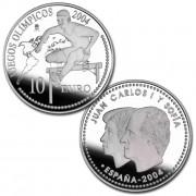 España Spain monedas Euros conmemorativos 2004 Juego Olimpicos 10 euros Plata