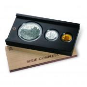 España Spain monedas Euros conmemorativos 2004 Vº Centenario de la muerte de Isabel Católica Completa Oro y Plata