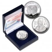 España Spain monedas Euros conmemorativos 2004 Vº Centenario de la muerte de Isabel Catolica 10 euros Plata