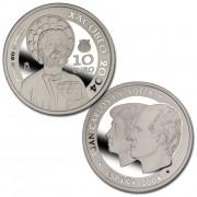 España Spain monedas Euros conmemorativos 2004 Xacobeo 10 euros Plata