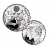 España Spain monedas Euros conmemorativos 2005 12 euros Plata