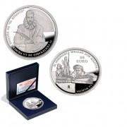 España Spain monedas Euros conmemorativos 2005 QUIJOTE Estuche 50+10+10+10 Euros  Plata