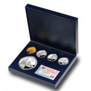 España Spain monedas Euros conmemorativos 2005 Quijote Estuche 50+10+10+10 Euros plata+ 400 euros oro
