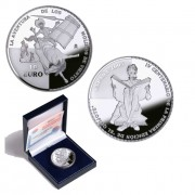 España Spain monedas Euros conmemorativos 2005 Quijote 10 euros Aventura Molinos Plata