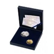 España Spain monedas Euros conmemorativos 2005 XXV Aniversario Premio Princ.Asturias Set completo Oro y Plata