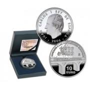 España Spain monedas Euros conmemorativos 2006 10 euros Plata 20 aniversario CE