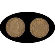 España Spain  Fernando Ferdin VII 4 escudos 1820  Madrid GJ Oro Gold Au