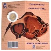 España Spain 2015 Cartera Oficial Moneda 2€ euros conmemorativos  Altamira