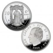 España Spain monedas Euros conmemorativos 2006  CARLOS V 10 euros  Plata Personajes Europeos