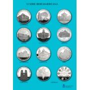 España Spain monedas Euros conmemorativos 2006 VI Serie Iberoamericana de 12 Monedas Conmemorativas Plata