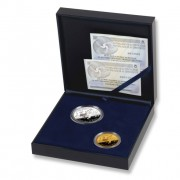 España Spain monedas Euros conmemorativos 2007 50 Aniversario Tratado de Roma Set completo Oro-Plata