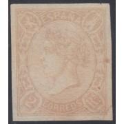 España Spain Variedad 73 Ab 1865 Isabel II MH