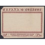 España Variedad 545MTas 1930 Colon Columbus Ensayo Marco SD Taladro Angular