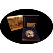 España Spain 2009 Dalí 50€ plata proof San Antonio El expectro del sex-appeal