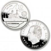 España Spain monedas Euros conmemorativos 2007 Año Polar Internacional 10 euros  Plata