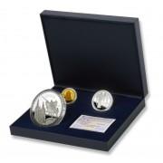 España Spain monedas Euros conmemorativos 2007 Cantar Mio Cid Estuche completo Oro-Plata