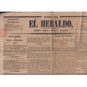 España Spain Timbres de Periódicos Matasello Prefilatélico 19 Oct 1842 Manresa