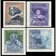 España Spain 1344/47 SH 1961 III Centenario de la Muerte de Velazquez MNH