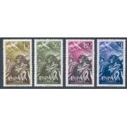España Spain 1187/90 1956 XX Anv. del Alzamiento Nacional MNH