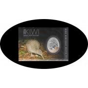 Nueva Zelanda New Zealand 1 Onza Oz 1$ 2016 Kiwi EGG Plata