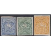 Ecuador 1/3 1865 - 1872  Escudo de Armas MH