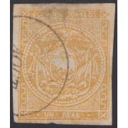 Ecuador 3 1865 - 1872 Escudo de Armas Usado