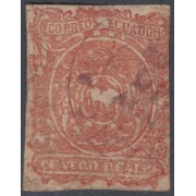 Ecuador 4 1866  Escudo de Armas Usado