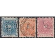 Ecuador 5/7 1872 Escudo de Armas Usados