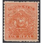 Ecuador 6 1872 Escudo de Armas MH