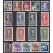 España Spain Año Completo Year Complete 1950 MNH