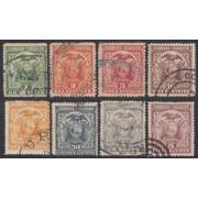 Ecuador 109/16 1897 UPU Escudo de armas Usados