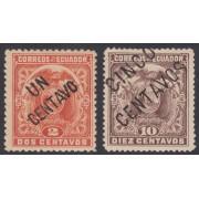 Ecuador 125/26 1899 Escudo de armas MH