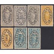 Ecuador 135/40A 1903 - 1906 Fiscales MH