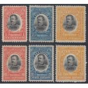 Ecuador 141/46 1904 Abdon Calderon Garaicoa MH