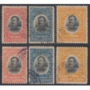 Ecuador 141/46 1904 Abdon Calderon Garaicoa Usados