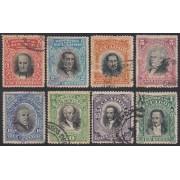 Ecuador 147/54 1907 Presidentes Usados