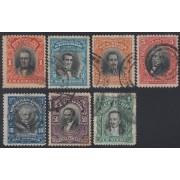 Ecuador 179/84A 1911 1915 Serie corriente Usados