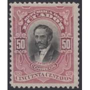 Ecuador 184a 1911 - 1915 Variedad de Color Variety MH Sin Goma
