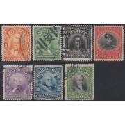 Ecuador 189/95 1915 - 1917 Serie corriente Usados