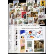 España Spain Año Completo Year Complete 1999 Minipliego Caballos Entero