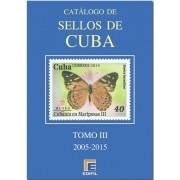 Catálogo de Sellos Edifil  Cuba Tomo III 2005 - 2015