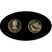 Canada 100$ 1987 Elisabeth II  Galgary 1988 Oro Gold Au