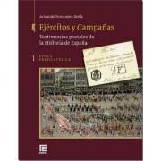 España Catálogo Edifil  Ejércitos y Campañas. Tomo I Prefilatelia