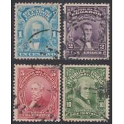 Ecuador 236/39 1925 Personajes Usados