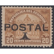Ecuador 240 1925 Postal MH