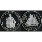 España Spainm Monedas Don Juan de Borbón 1993 5 ecus plata