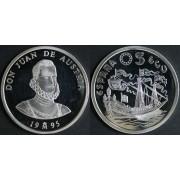 España Spain Monedas Serie Marina Española 1995 5 ecus plata