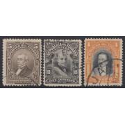Ecuador 250/52 Personajes 1927 - 1929 Usados